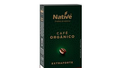 Café Orgânico Torrado e Moído Extraforte Native