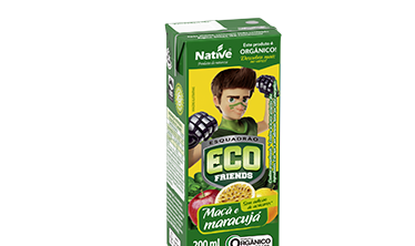 Suco Misto de Maçã e Maracujá Eco Friends