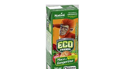 Suco Misto de Maçã e Tangerina Eco Friends