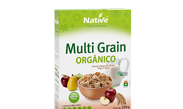 Cereal Orgânico Native Multi Grain