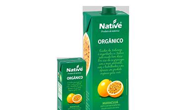 Néctar de Maracujá Orgânico Native