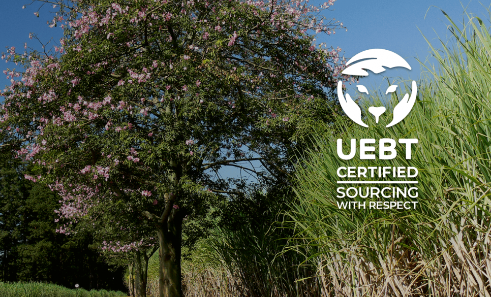 Native is the first food company in the world to achieve the UEBT ethical sourcing certification