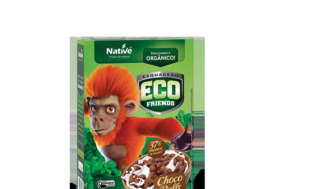 Cereal Orgânico Eco Friends Choco Balls Native