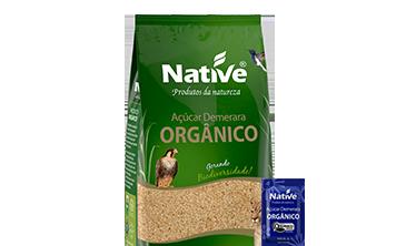 Açúcar Demerara Orgânico Native