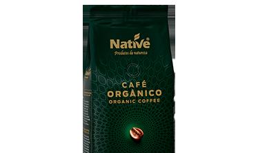Café Orgânico Torrado em Grãos Native