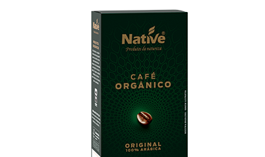 Café Orgânico Torrado e Moído Original Native
