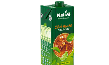 Chá Mate Limão Orgânico Native