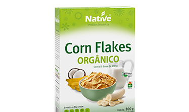 Corn Flakes Orgânico Native