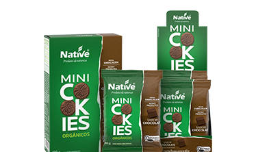 NATIVE ORGANIC CHOCOLATE MINI COOKIES