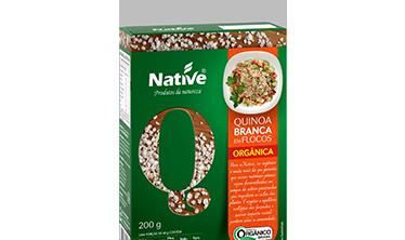 Quinoa Branca em Flocos Orgânica Native