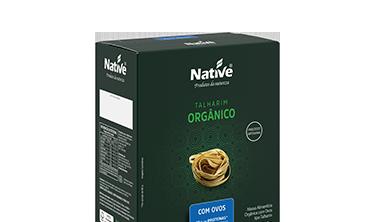 Talharim Orgânico com Ovos Native